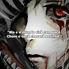 Otaku Anime, Anime Naruto, Sad Texts, Sad Pictures, Sad Life, Aesthetic Videos, Anti Social, Kaneki, Yandere