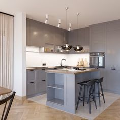 Kitchen Room Design, Interior Design Living Room, Living Room Decor, Welcome To My House, Open Concept Kitchen, New Room, Home Kitchens, Sweet Home, Decoration