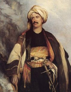 David Roberts in the Costume He Wore in Palestine 1840
