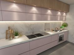 Best Ideas to Decorate Your Modern Country Kitchen - Interior Fun Country Kitchen Interiors, Modern Country Kitchens, Country Kitchen Designs, Kitchen Room Design, Kitchen Cabinet Design, Kitchen Sets, Modern Kitchen Design, Home Decor Kitchen, Interior Design Kitchen