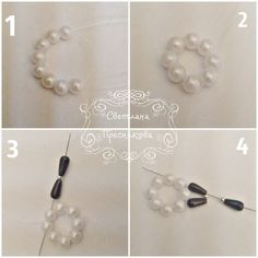 Beebeecraft beautiful bracelet making with pearl and seed beads Beaded Earrings, Earrings Handmade, Beaded Bracelets, Beaded Jewelry Designs, Bead Jewellery, Beading Tutorials, Beading Patterns, Beaded Ornaments, Bead Caps