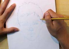 paso 4 dibujar retratos realistas paso a paso