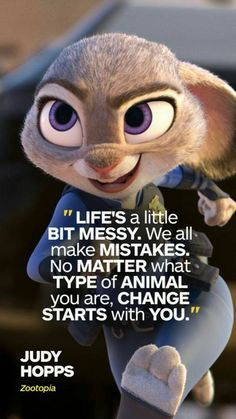 54 Facts About Disney Movies That Will Actually Blow Your Mind Judy Hopps From Zootopia quotes Movies Quotes, Disney Movie Quotes, Pixar Quotes, Disney Quotes About Love, Beautiful Disney Quotes, Best Disney Quotes, Disney Sayings, Disney Princess Quotes, Disney And Dreamworks