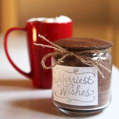 12 Days of Edible Gifts: Vanilla Hot Chocolate Mix