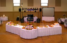 Wedding Reception Buffet Set Up | Prompt Pre-Service