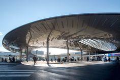 Transportation hub in Graz / Zechner & Zechner
