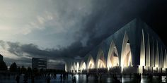 A Lahoud - Istanbul, TR - Cultural Center   / visual dougandwolf