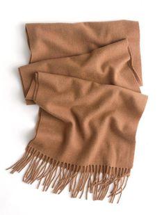 J.Crew cashmere scarf.