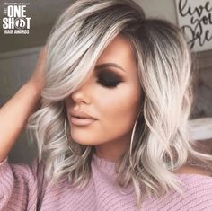 Fashonable Updo Hairstyles for Short Hair Hair Styles, Cute Easy Hairstyles For Short Hair Archives Short Haircut Com. Fashonable Updo Hairstyles For Short Hair Hair Styles. Ombre Hair Color, Blonde Ombre, Blonde Highlights, Ash Blonde Balayage Short, Ash Ombre, Ashy Blonde Hair, Balayage Straight, Gray Ombre, Blonde Waves