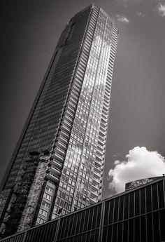 Building and cloud, Toronto, photographed by Toronto fine art photographer, Ken Jones.