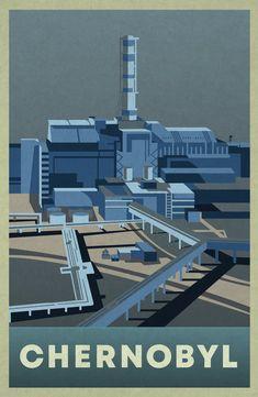 Chernobyl Reactor, Chernobyl Nuclear Power Plant, Soviet Art, White Heat, Plant Design, Beautiful Artwork, Travel Posters, Light Texture, Storyboard