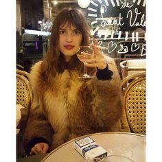 """Parisian way to start the week #regram #snapshat @askadeline"" Photo taken by @jeannedamas on Instagram, pinned via the InstaPin iOS App! http://www.instapinapp.com (02/15/2016)"
