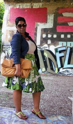 Style Chic 360: Graffiti #plus size Fashion Inspiration