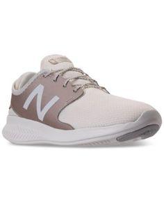 4ef15cd068b New Balance Women s Coast V3 Running Sneakers from Finish Line - White 6.5  Balance Gym
