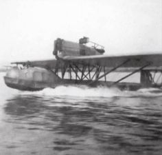 Dornier Gs.1 (1919) started as military recon and refitted as airliner after the end of WWI, the plane was finally sunk in 1920 in order to avoid capture by allies