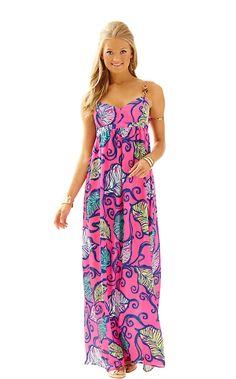 Joanna Empire Waist Maxi Dress - Lilly Pulitzer She Looks like a barbie!!