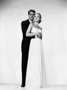 Cary Grant y Grace Kelly. Atrapa a un ladrón.