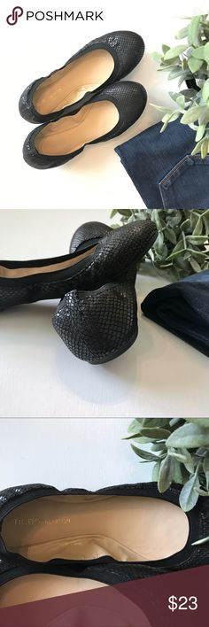 Black BCBGeneration Flats Great pair of black BCBGeneration flats! So comfortable! In excellent condition! Size 8 BCBGeneration Shoes Flats & Loafers