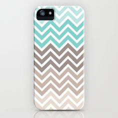 Ocean Chevron iPhone Case. Would love this for my iPhone 5s.