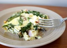 Egg, Ham, and Spinach Breakfast Casserole Recipe