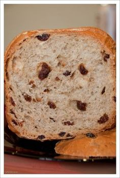 Make and share this Cinnamon Raisin Bread for the Bread Machine recipe from Genius Kitchen. Bread Machine Recipes Healthy, Bread Maker Recipes, Baking Recipes, Cinnamon Swirl Bread Machine Recipe, Cinnamon Raisin Bread, Best Bread Machine, Fruit Bread, Banana Bread, Dessert