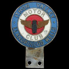 Ithon Valley  Motor Club, Llandrindod Wells. Any details about this club wanted www.coltautobadgecollection.co.uk
