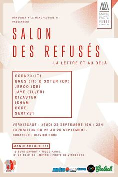 Le Salon des Refusés | POSCA.com - Site officiel