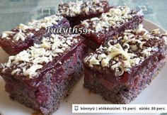 Mákos-meggyes bögrés süti JUDYTH konyhájából