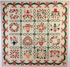 Album Quilt: Circa 1860 (item #1159063, detailed views)