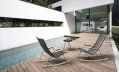 Very strong design and budget friendly outdoor collection by Houe (Danmark)