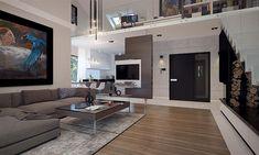 Compact Home Contemporary decor Contemporary Decor, Home Fashion, Construction, House Design, Interior Design, House Styles, Exterior, Inspiration, Home Decor