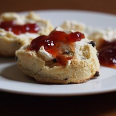"""We take coding breaks for scones and afternoon tea with friends. Recipe: @testkitchen's """"British-Style Currant Scones."""""""
