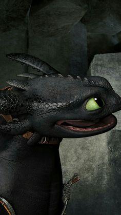 The cutest dragon face