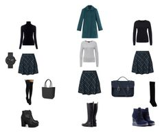 """""""cell skirt"""" by ekavna on Polyvore featuring мода, M.i.h Jeans, Max&Co. и The Cambridge Satchel Company"""