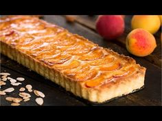 Apricot Slice, Apricot Tart, Tart Recipes, Baking Recipes, Dessert Recipes, Food Network Recipes, Food Processor Recipes, Buttery Flaky Crust, Frangipane Tart