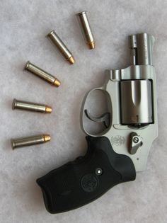 """Smith & Wesson Model 642-2 - .38 Special +P Revolver  """"In my opinion, this is one of the best carry guns ever made."""