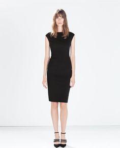 Image 1 of BOATNECK TUBE DRESS from Zara
