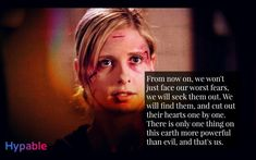 These 20 'Buffy the Vampire Slayer' quotes prove the show'll live forever Great Tv Shows, Old Tv Shows, Slayer Tattoo, Insta Bio Quotes, Buffy Im Bann Der Dämonen, Stargate Atlantis, Sarah Michelle Gellar, Tv Show Quotes, Joss Whedon