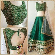 Buy Designer Indian Saree, Bollywood Collection of Anarkali Salwar Suits, Designer Gowns Choli Designs, Blouse Neck Designs, Lehenga Designs, Indian Lehenga, Red Lehenga, Lehenga Choli, Bridal Lehenga, Sarees, Indian Attire
