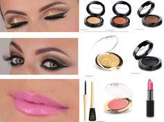 Oferta de MaquillArte con productos Golden Rose. 8 productos para que tu misma te hagas el maquillaje de la foto. MaquillArte, empresa de venta de cosméticos online. Web: http://www.makeupshadow.com Email: contacto@makeupshadow.com