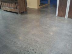 light grey polished concrete - Google Search