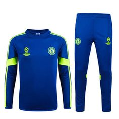 Aliexpress.com : Buy New Chelsea tracksuit spain Champions League Training Suit Chelsea Soccer Tracksuit 14 15 Football Training Suit jacket pants from Reliable jacket blue suppliers on Keep Moving (HK)  | Alibaba Group