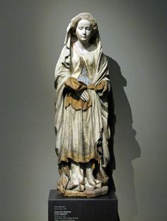 Hans Multscher (1400-1467),  St. Mary Magdalene, ca. 1465, Liebieghaus, Frankfurt am Main, Germany