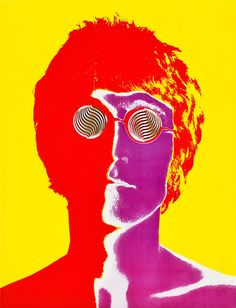 John Lennon 1967  Photographer By Richard Avedon for Look Magazine. S)