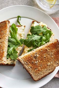 Easy-to-find ingredients and a few minutes are all it takes to prep this creamy and simple vegetarian sandwich. Make a batch for the week ahead to make meal prep a breeze or easily customize by adding extras like pickles, lettuce, or tomato to make this lunch creation your own.#easy #easyrecipes #quickandeasy #easyrecipesideas #dinner #supper #easydinner #easydinnerideas #easysupper #easysupperideas
