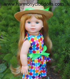 "HARMONY CLUB DOLLS 18"" Dolls and over 300 styles to fit American Girl <a href=""http://www.harmonyclubdolls.com"" rel=""nofollow"" target=""_blank"">www.harmonyclubdo...</a>"