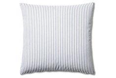 skinny blue stripe p