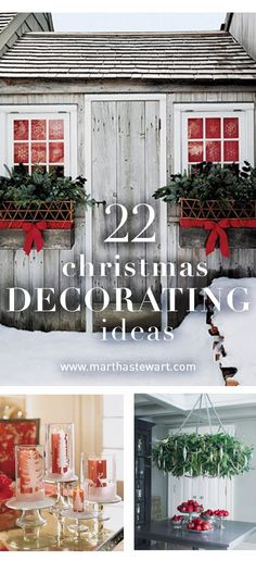 Our best holiday decor ideas all in one place including wreaths, garland, and more!