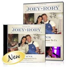 Joey+Rory:  Hymns DVD/CD. . . Just Released : $24.95 Includes:------------------------------------------ Take My Hand, Precious Lord --  I Surrender All  ---  He Touched Me  --  Softly And Tenderly --  Jesus Loves Me --  It Is Well With My Soul - The Old Rugged Cross  --  I Need Thee Every Hour  -- How Great Thou Art -- -----  I'll Fly Away --  Jesus Paid It All  -- Suppertime  --  When I'm Gone