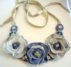 Resultado de imagen para textile jewelry